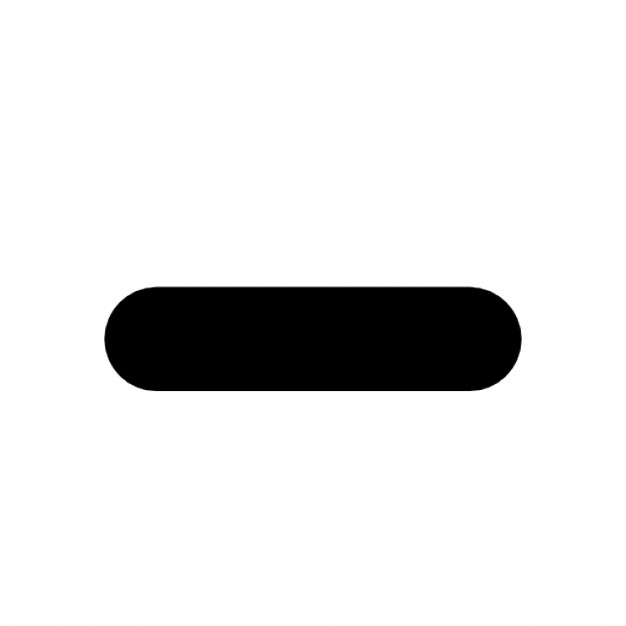 Картинка знака минус